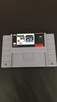 Super Nintendo NHL 95 SNES