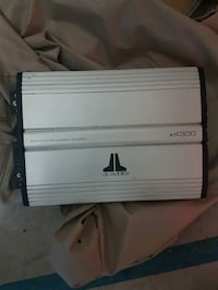 JL Audio car amplifier jle4300 Brampton, L7A 0K9