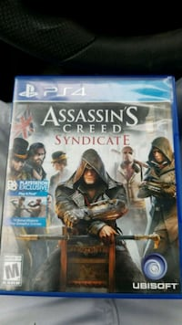 Assassin's Creed Syndicate PS4 game case Louisville, 40218