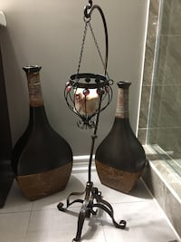 Candle holder and two vase set Brampton, L6P 1G6