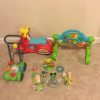 toddler's assorted plastic toys Ashburn, 20148