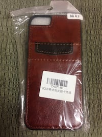 Brown leather iphone case in pack Simcoe, N3Y 3V5