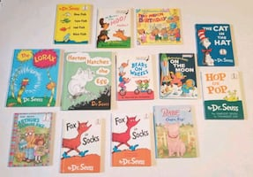 Books. Dr Seuss. Childrens Books Hardcover x 13.