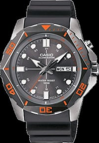 Casio Illuminator Watch Silver Spring, 20902