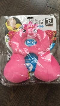 baby's pinktotal supper neck pillow