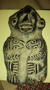 Antique clay tribal talisman Richmond, 23220