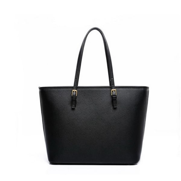 Woman's Leather Shoulder Tote Bag