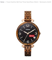 FOSSIL - Rose-gold-colored analog watch  Toronto