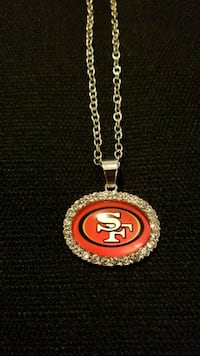 New Stainless Steel San Francisco 49'ers Necklace Modesto, 95350
