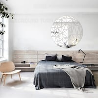 MIRROR WALL BACK GROUND DECALS!! NOW ON SALE 40% OFF TILL MIDNIGHT!! New Brighton
