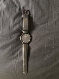 Black And Gold Nixon Watch (Leather Strap) Fullerton, 92831