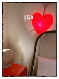 Lower price !Bedside hanging lamp Heart! Orlando, 32828