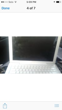 Apple Mac laptop. screen is damaged ,great for someone who can fix it.bought with intentions to fix but got new one for Christmas . null, N0E 1Y0