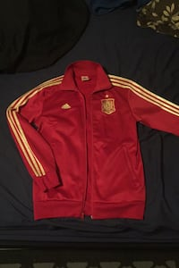 Spain World Cup track jacket 2014 great condition  Edmonton, T5L 3Z8