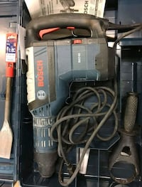 black and gray Bosch corded hammer drill with case Lodi, 95240