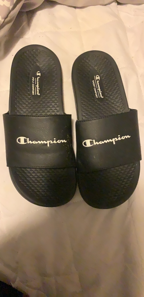 Navy Blue Champion Shoes