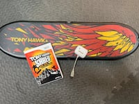 Tony Hawk Wii game with Board