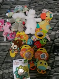 assorted animal plush toy collection Mississauga, L5B
