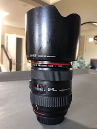 Canon 24-70 L i lens.  Used, working condition. Clean glass Leesburg, 20176