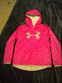 pink and white Under Armour pullover hoodie Edmond, 73012