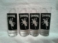 4 Tarantula Spider Double Shot Glasses Eugene, 97404