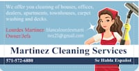 Martinez Cleaning Services  Triangle, 22172