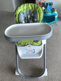 Fisher Price 4 in 1 total clean high chair !! Excellent  condition  South San Francisco, 94080