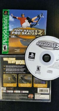 Tony Hawk's Pro Skater 3 for Sony Playstation PS1 New Westminster, V3M 3Y3