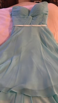 teenager/ woman strapless lt. blue chiffon dress Fresno, 93727