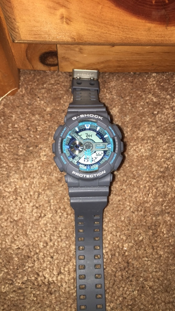 round black digital watch with black strap for sale  Toms River