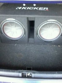 2 12 inch kicker compr subs and 4000w Pyle amp Lexington, 27295