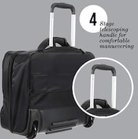 Rolling laptop/carry on bag by Lipault Prosper, 75078