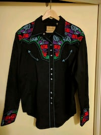 black and red zip-up jacket Grimsby, L3M 1L3