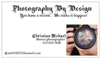 Photography By Design advertisement Reisterstown, 21136