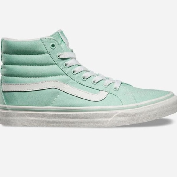 Used Mint Green Vans Sk8-Hi for sale in New York - letgo 5ce33ad80