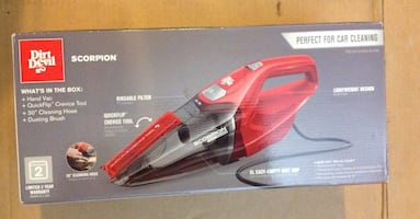 Dirt Devil Scorpion Handheld Vacuum Cleaner-NEW.