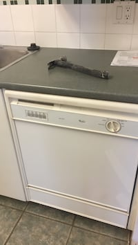white front-load clothes dryer Vancouver, V5R 5E3