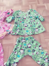 Excellent condition very clean 100% cotton hand made from 6months to 2 years Toronto, M2J 3C8