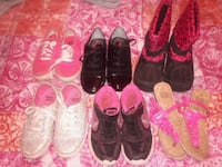 toddler's four pairs of shoes Greenville, 29617