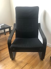 Black IKEA Arm Chair  Jersey City, 07306