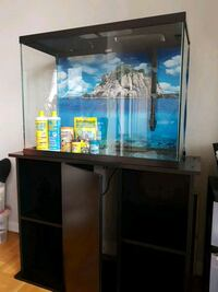 40 gallon fish tank with stand  Toronto, M2K 1E4