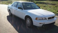 White 1994 Acura legend hard to fined Rogers, 72756