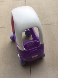 Purple and pink little lil tikes cozy coupe princess Sunbury, 43074
