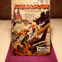 Showcase #31-1961-very early aquaman appearance