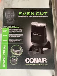 CONAIR cordless rechargeable shaver Mississauga