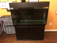 50 gallon aquarium come with canister filter and decor Mansfield, 76063