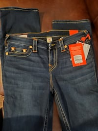 Brand new authentic size 31  true religion jeans