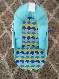 baby's teal and white bather Kitchener, N2C 2L8