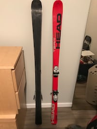 Head Team Racer Youth 157cm skis w/bindings 3120 km