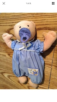 Soft baby doll bear with pacifier Huber Heights, 45424